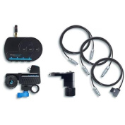 Redrock Micro microRemote Handheld Fingerwheel Bundle for Camera and Lens, Includes FlexCables, microRemote Fingerwheel Controller, Torque motor
