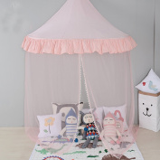 Free Love @New half-moon design pink colour children game room kids play house Teepee