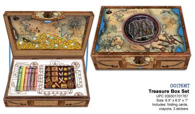 Pirate's Treasure Box by Pecoware