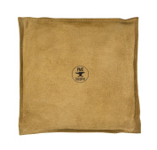 25cm Diameter Square Leather Sand Bag Cushion for Metal Dapping Stamping Hammering Chasing Forming Jewellery Tool