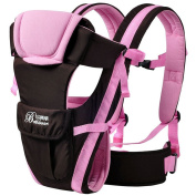 Baby & Child Carrier Baby Carrier Backpack Ventilate Adjustable Buckle Mesh Wrap