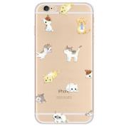 iPhone 6 Plus Case, Nurbo Transparent Clear TPU Cover for iPhone 6s Plus 14cm