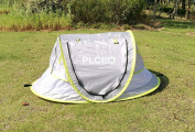 baby travel bed, Portable baby beach tent UPF 35+ sun shelter, pop up mosquito net and 2 Pegs,super lightweight