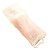 Nicole 5pcs Bubble Net for Handmade Soap Double Layer Hanging Elastic Foaming Cleaning Mesh Bag