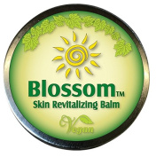 Blossom Balm - Natural Vegan Blend of Essential Oils & Candelilla Wax for Wound Care, Psoriasis, Eczema, Hives, Rosacea, Dermatitis & Shingles. Relief for Cuts, Burns, Anti Itch & Fungal. Not a Cream