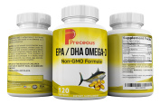 #1 Recommended EPA/DHA OMEGA -3 Cholesterol Lowering Supplements With Omega 3 Fish Oils