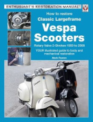 How to Restore Classic Largeframe Vespa Scooters