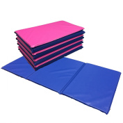 NEW 5x Triple Folding Nursery Sleep Mats in Pink / Blue for Children & Toddlers