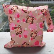 Snowwer Baby Infant Waterproof Zipper Reusable Cloth Nappy Bag