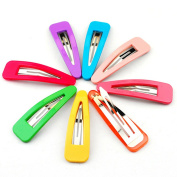 NK'store The new fashion jewellery lovely hair clip maker side-knotted clip Punk hair accessory hairpin candy colour multicolor for women pack of 10 pcs.