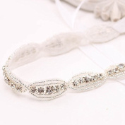 Bridal Headband Flowergirl Headband Rhinestone Crystal Headband Bling Headband Girls Princess Flower Hairband