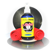 T-TOTAL 250ml Alcohol Free Vinyl Record Cleaner Spray & Cloth Kit