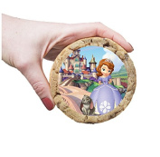 Princess Sofia The first Cookie Toppers 2.5 Inch / 6.35 cm On Pre Cut Rice Paper Ideal for medium sized cookies or Extra large cupcakes 12 Per Sheet