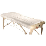 Mt Massage Tables Poly-Backing Disposable Table Sheet (Pack of 10) for Massage/Treatment Table America Brand