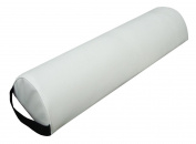 Harima - Half Round Comfort Massage Bolster Pillow Cushion Tube for Massage Table 15 cm Width - White