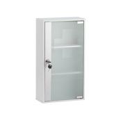 Axentia 116914 Lockable Medicine Cabinet with glass door