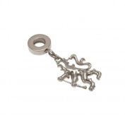 Official Chelsea FC Stainless Steel Lion Bracelet Charm