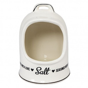 Ceramic Salt Pig Kitchen Salt Storage Jar
