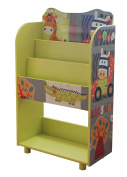"""Liberty House Toys TF4802 """"Kid Safari"""" Bookshelf"""