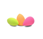 Minifamily® 3 Pcs Flawless Makeup Blender Foundation Puff Multi Shape and Colours Sponges