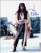 JOHNNY DEPP AUTOGRAPH GLOSSY PHOTO PRINT