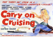 Carry On Cruising Movie Vintage Reproduction A4 Poster / Print 260GSM Photo Paper