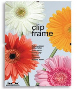Innova Editions 20 x 25 cm/ 10 x 8-Inch Glass Frame for Picture or Poster with Clips and White Edged Backing Board