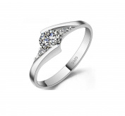 Designer Inspired Halo 1.25 Carat Simulated Diamond Ring Sterling Silver 925