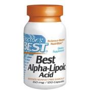 Best Alpha Lipoic Acid, 150 mg, 120 Capsules - Doctor's Best - UK Seller