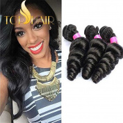 Top Hair 7a 100% Unprocessed Peruvian Virgin Hair Loose Wave 8 to 80cm Hot Sell Peruvian Virgin Hair Curly Wave Human Hair Extensions 50g/pc 1 Bundle 70cm