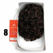Sepia Drawstring Hair Pony Tail & Hair Extension 8 Chocolate Brown