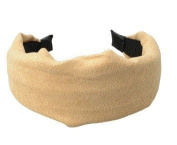 New Simple . Cloth Girl Hair Band Headband Light Brown by Ozone48