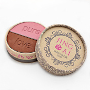 Blush By Jing Ai - Sierra Glow Duo - 2 Gorgeous Shades In Each For Light, Medium Or Dark Skin For Any Complexion. Rich In Vitamins A & E. Paraben, Gluten, & Cruelty Free Vegan Formula