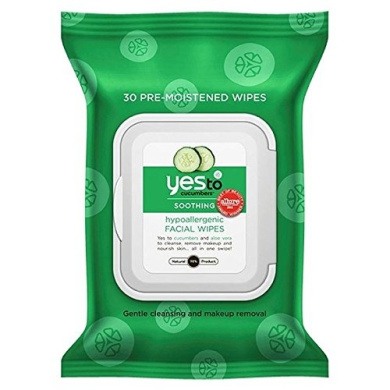 Yes to Cucumbers Wipes 25 per pack