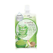 Smooto Aloe-E Snail Bright Gel in one box with all four envelopes