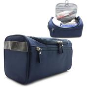 Hanging Travel Toiletry Bag For Men or Women- Perfect For Grooming Shaving Dopp Kit & Travel Size Toiletries.