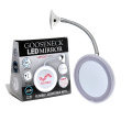 Hampstead Gooseneck Vanity EXTRA Length Bathroom Vanity Mirror with Led Solid suction