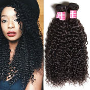 Beauty Forever Hair 7a Malaysian Virgin Curly Hair Weave 4 Bundle/ pack 100% Unprocessed Human Virgin Remy Hair Extensions Dyeable Hair Deals Natural Colour 95-100g