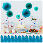 Landisun Wedding, Party fans and Tassel set, Event, Home Decoration
