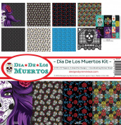 Reminisce DDL-200 Dia De Los Muertos Paper Collection Kit