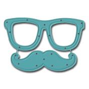 Maya Road DIE3343 Glasses & Stache Steel Cutting Die -