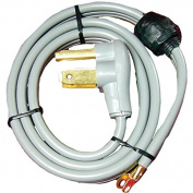 CERTIFIED APPLIANCE 90-1020QC 3-Wire Quick-Connect Dryer Cord, 30 Amps, 1.2m