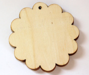 Cardinal Arts & Crafts Wooden Flower Tags, Set of 5