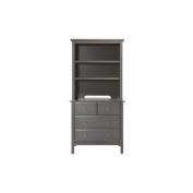 DaVinci Autumn Bookcase / Hutch, Slate