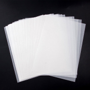 MyLifeUNIT 100 Sheets 20cm X 28cm Soft Off-White Translucent Tracing Paper - Not a Clear Transparent