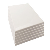 LWR Crafts Stretched Canvas 13cm X 18cm Pack of 6