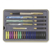 New Staedtler Calligraphy Pen Set, 33 Pieces, Student Drawing Painting