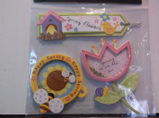 Special MomentsSpring Flowers Happy Spring Sping is in the Air Scrapbooking Embellishments