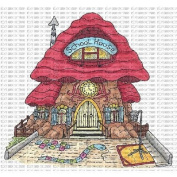 Riley & Company Mushroom Lane Cling Stamp 10cm x 9.5cm -School House