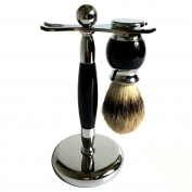 Authentic Badger Brush Luxury Shaving Stand Razor Brush Stand Holder Stainless Steel Weighted Base